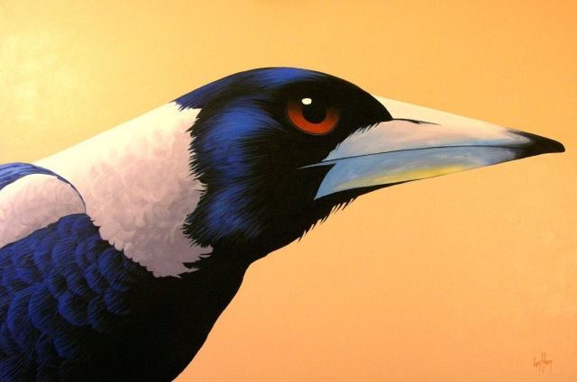 """The Pointy End"" by Australian Artist Harry Pidgeon. Buy art online at CooksHillGalleries.com.au. ARTAFFAIR.COM.AU"