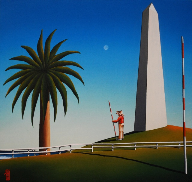 """Mariners' Obelisk"" by James Willebrant 