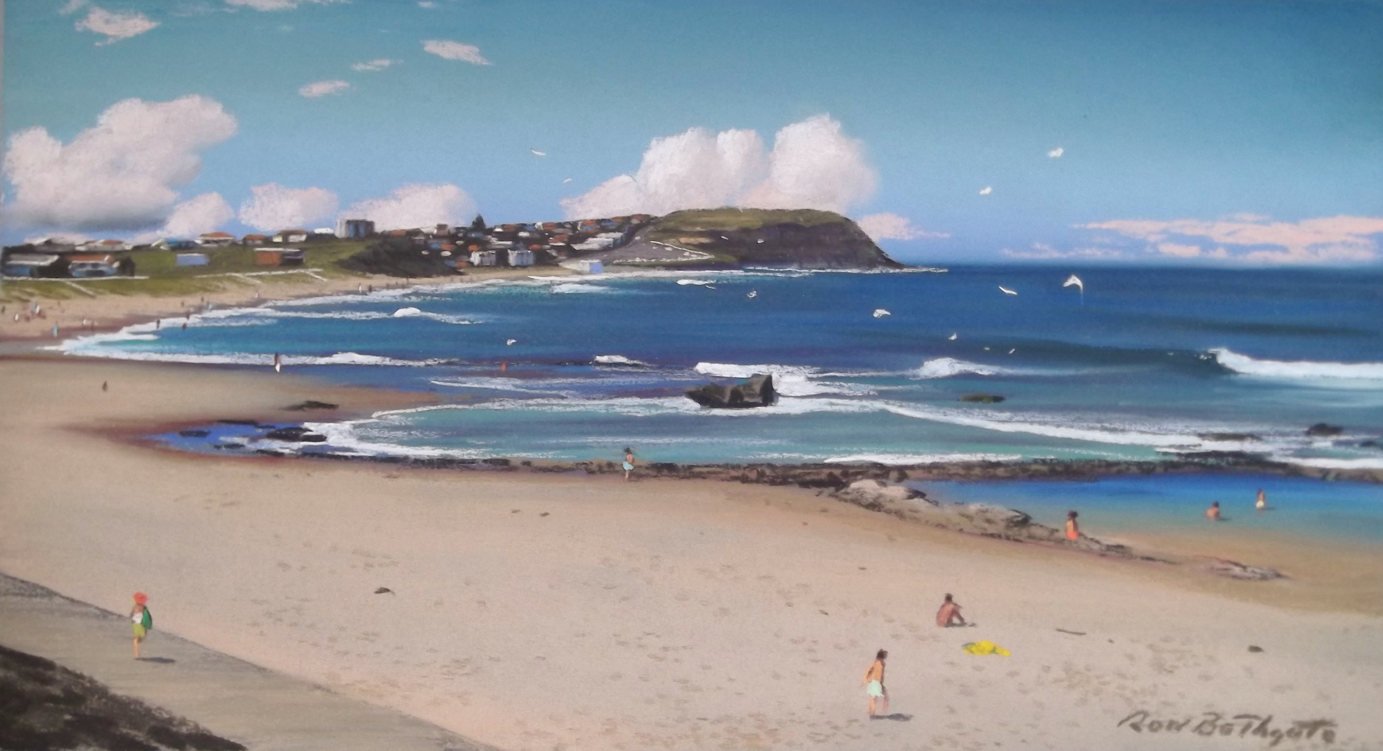 Australian Artist, Rod Bathgate