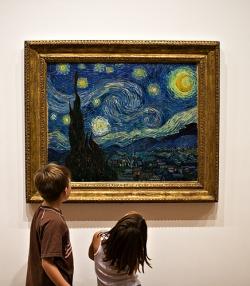 Children enjoying Art.