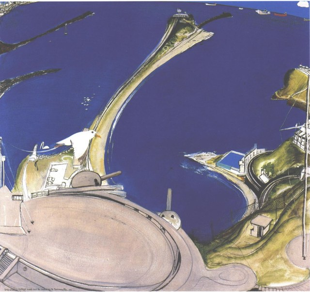 Brett Whiteley's 'Nobby's Head and the Entrance to Newcastle'